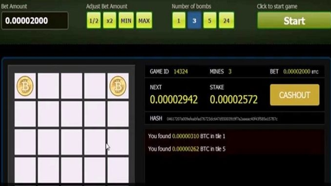 Minesweeper bitcoins results premier betting co