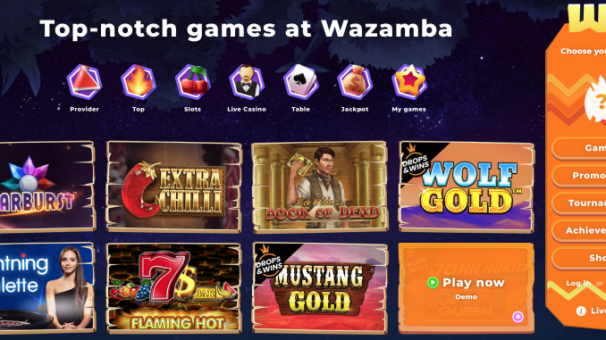 wazamba screen shot