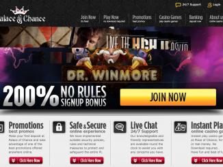 palace of chance screenshot