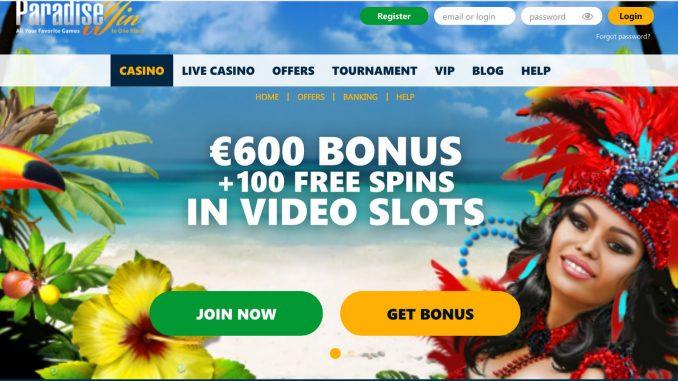 paradisewin casino